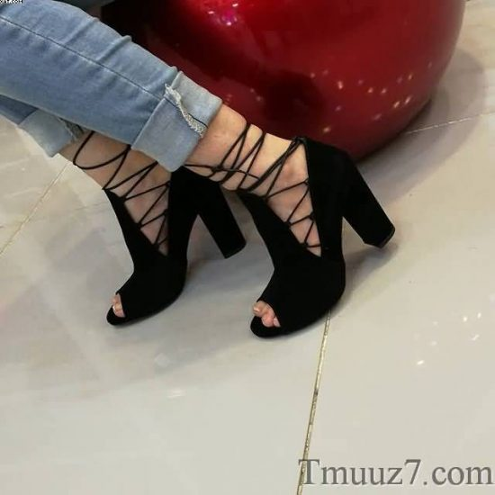 موديلات احذية كعب عالى للبنات 2018