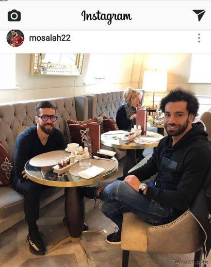 محمد صلاح وعبدالله السعيد