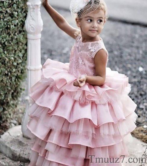 فساتين اطفال للزواجات, فساتين اطفال سهره 2018