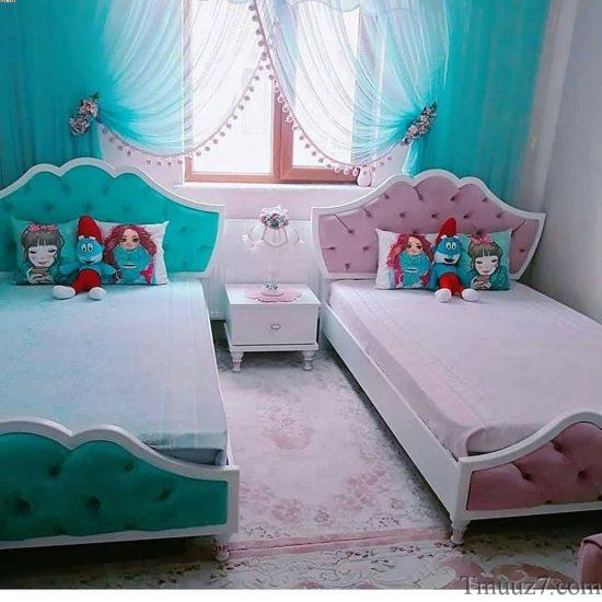 ديكورات غرف نوم اطفال مودرن 2018