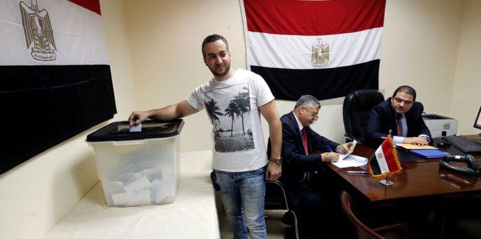 نسبة التصويت في انتخابات الرئاسة