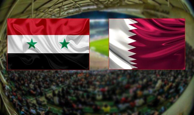 سوريا وقطر,قطر,موعد مبارة