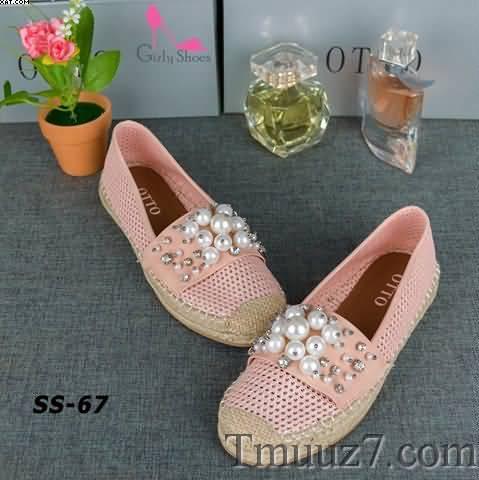 موديلات أحذيه نسائيه فلات شيك موضه 2018/Women Shoes