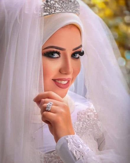 مكياج عرايس ناعم , مكياج عرايس محجبات 2018