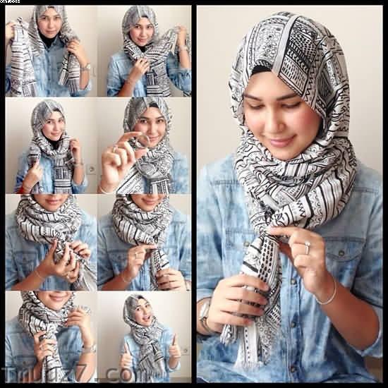 اجمل لفات حجاب 2018