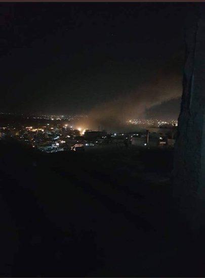 صور صور قصف سوريا اليوم الان