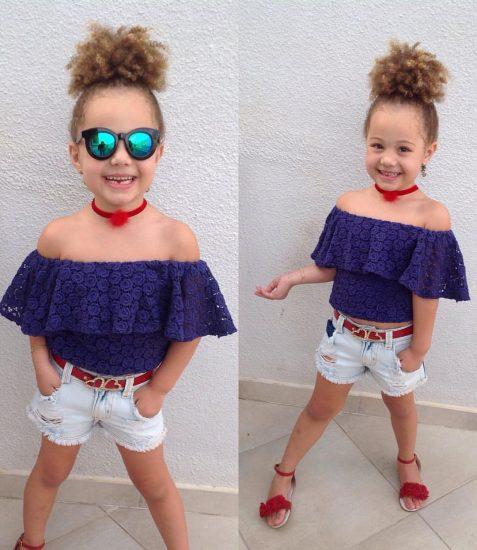 اجمل واحدث ملابس اطفال بنات للعيد 2018