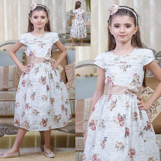 اجمل فساتين اطفال للعيد للبنات الكبار 2018