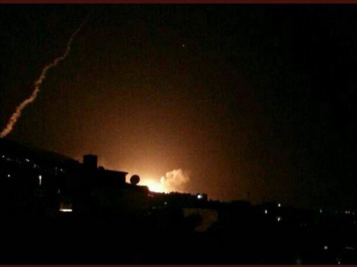 صور قصف سوريا اليوم