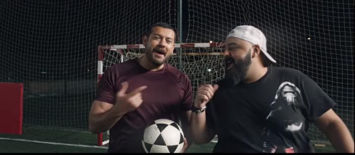 اعلان فودافون عمرو وشيكو